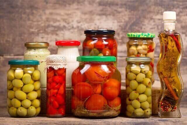 オリーブオイルとレンズ豆で健康レシピ、オイル漬け